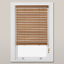 Buy John Lewis Wood Venetian Blind, FSC-Certified, 35mm Online at johnlewis.com