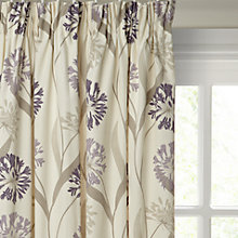 Buy Maggie Levien for John Lewis Ariana Lined Pencil Pleat Curtains Online at johnlewis.com