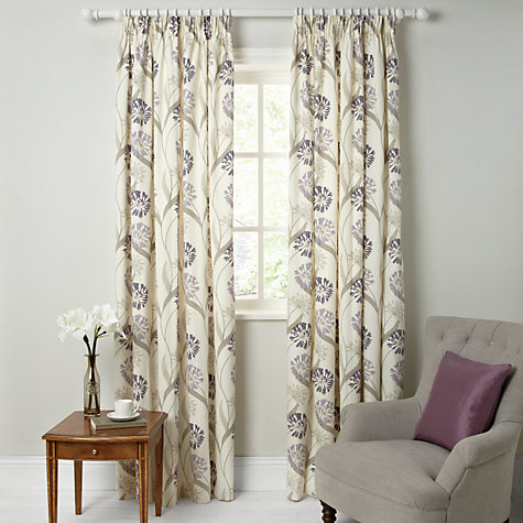 Buy Maggie Levien For John Lewis Ariana Lined Pencil Pleat Curtains Online At Johnlewis