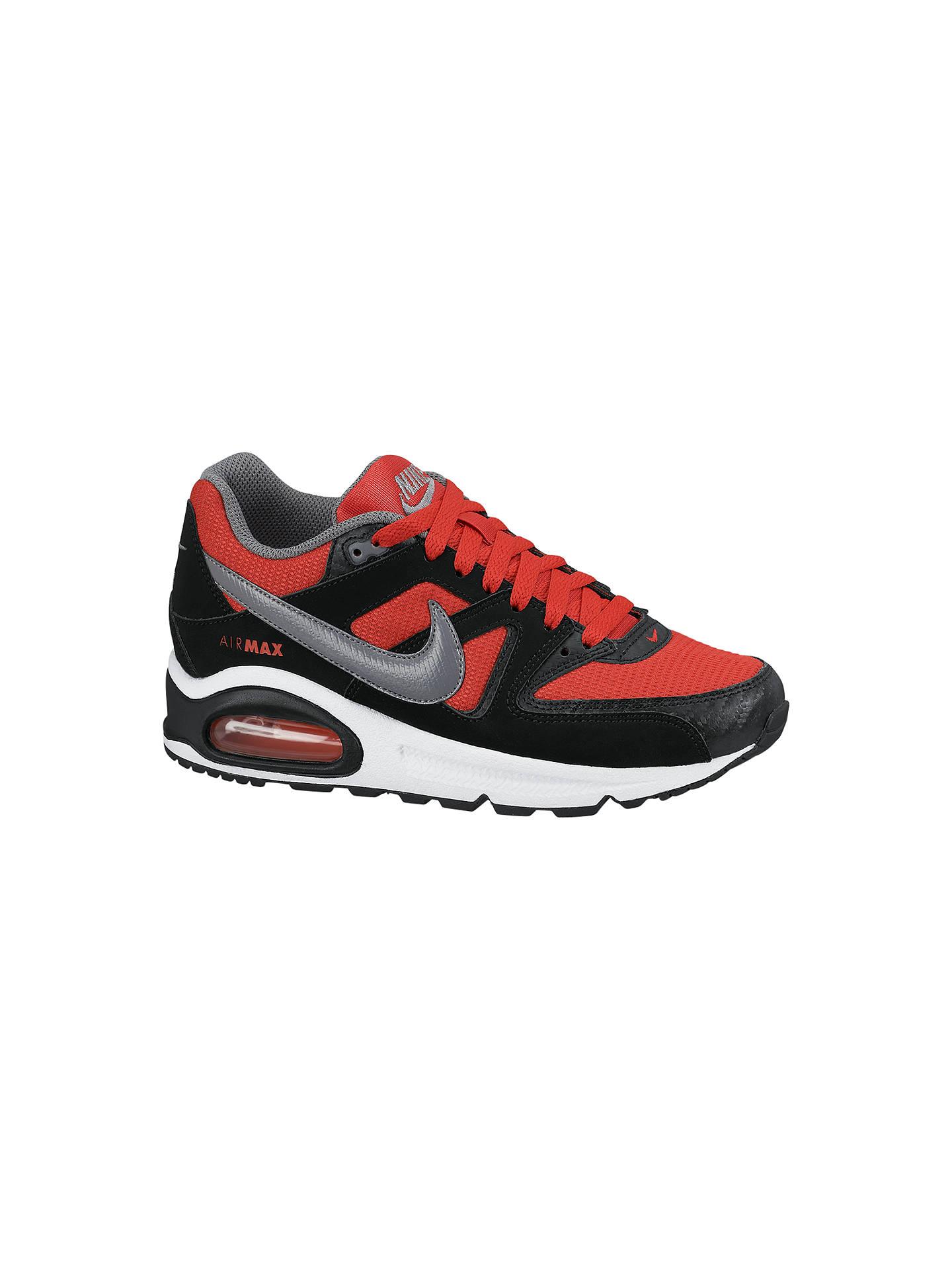 Nike Childrens' Air Max Command Trainers, RedBlack at John