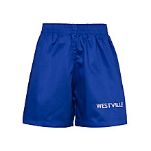 Buy Westville House School Games Shorts, Royal Blue Online at johnlewis.com
