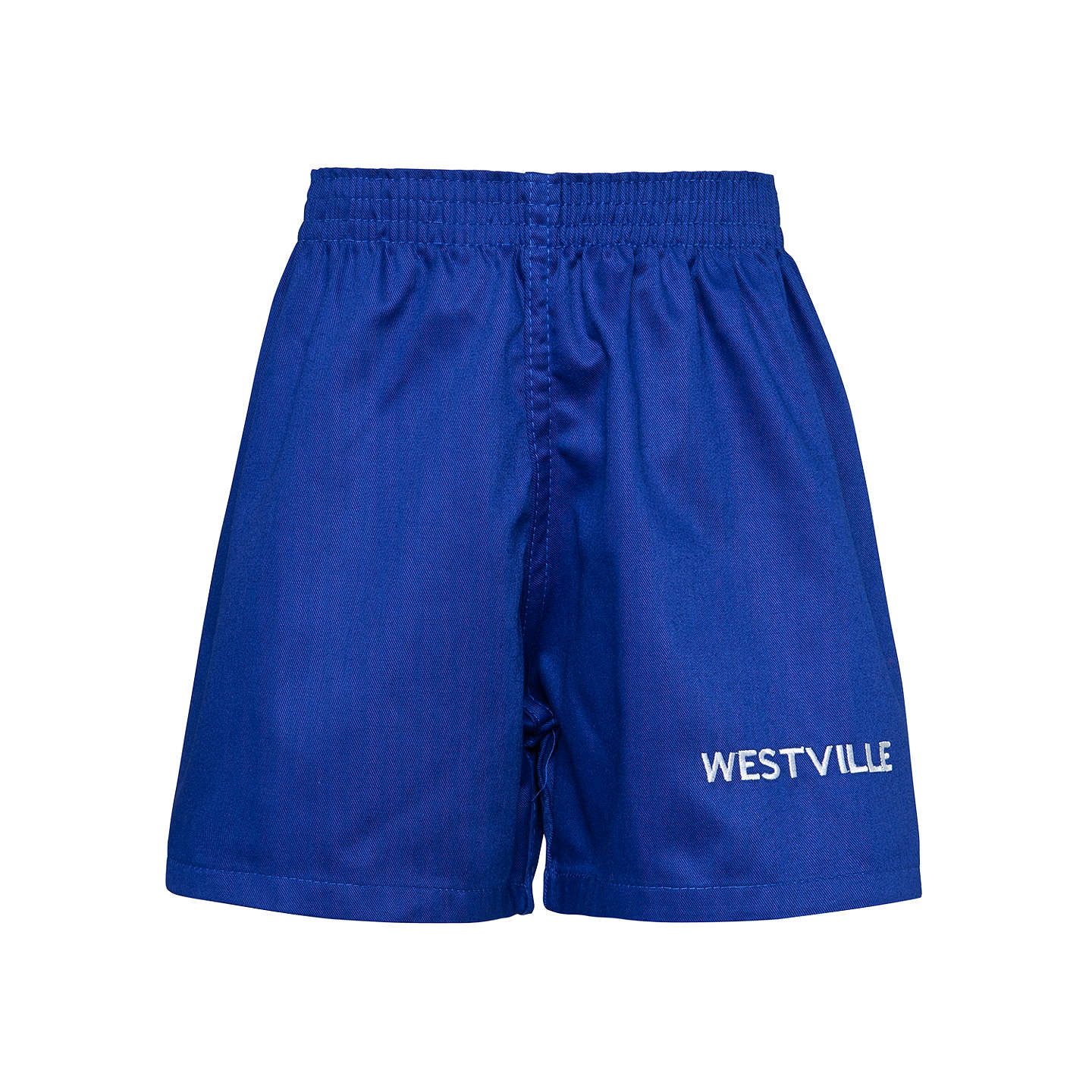 BuyWestville House School Games Shorts, Royal Blue, W18'' Online at johnlewis.com
