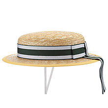 Buy Buckholme Towers School Girls' Boater Hat, Multi Online at johnlewis.com