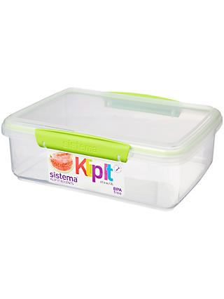 Sistema Klip It Rectangle Food Storage Container