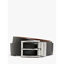 Buy John Lewis Made In Italy Reversible Belt, Black/Brown Online at johnlewis.com