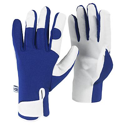 Kew Gardens Men's Gardening Gloves, Blue