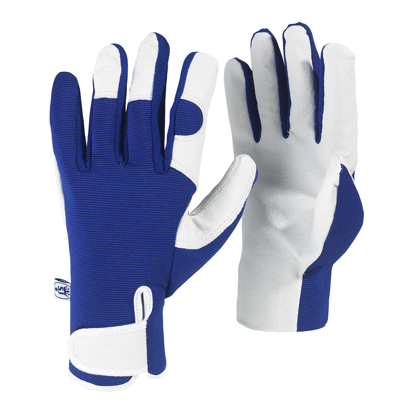 BuyKew Gardens Gardening Gloves, Blue, Medium Online at johnlewis.com