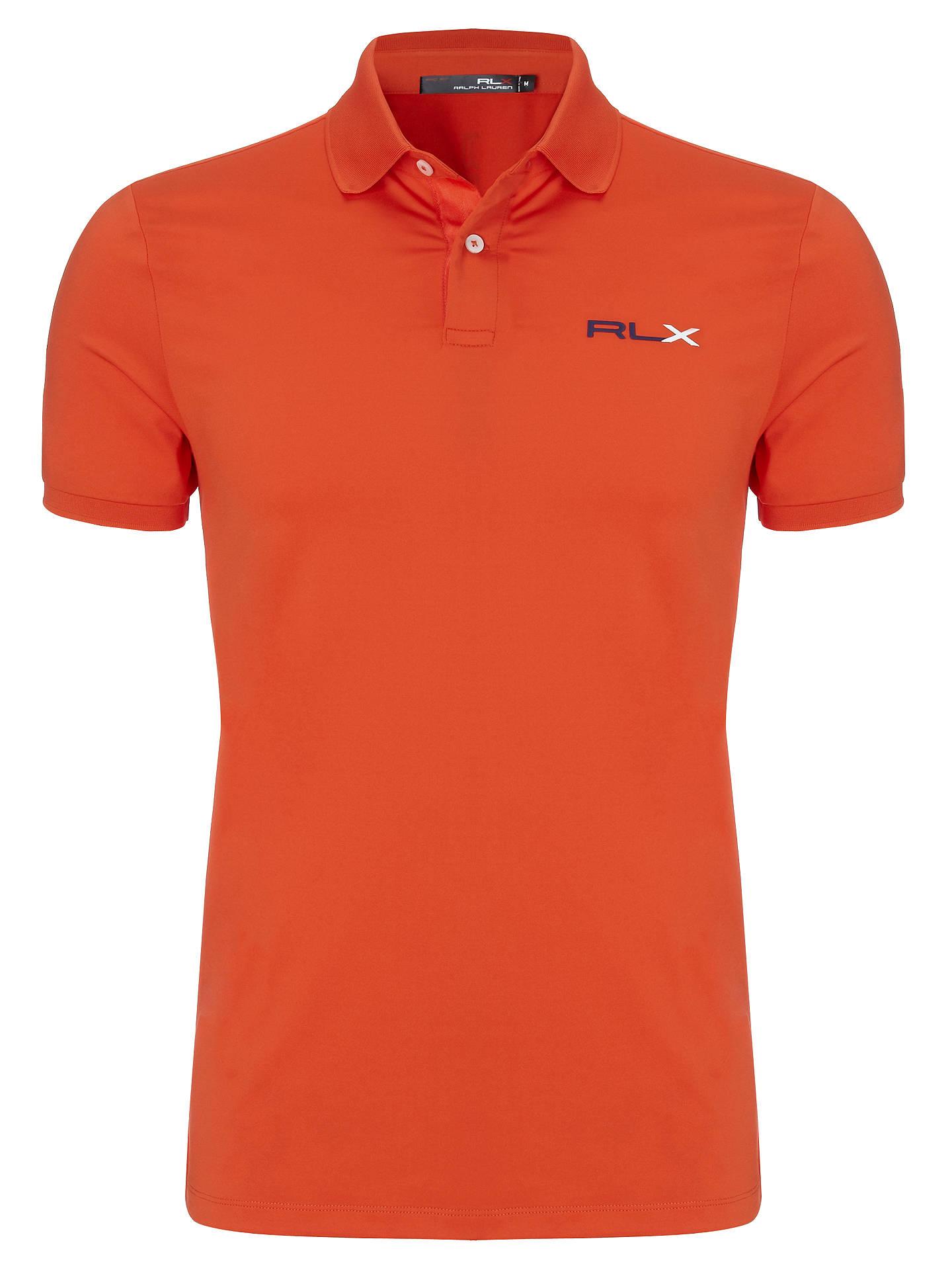Ralph Lauren Rlx Golf Short Sleeve Polo Shirt At John Lewis Partners
