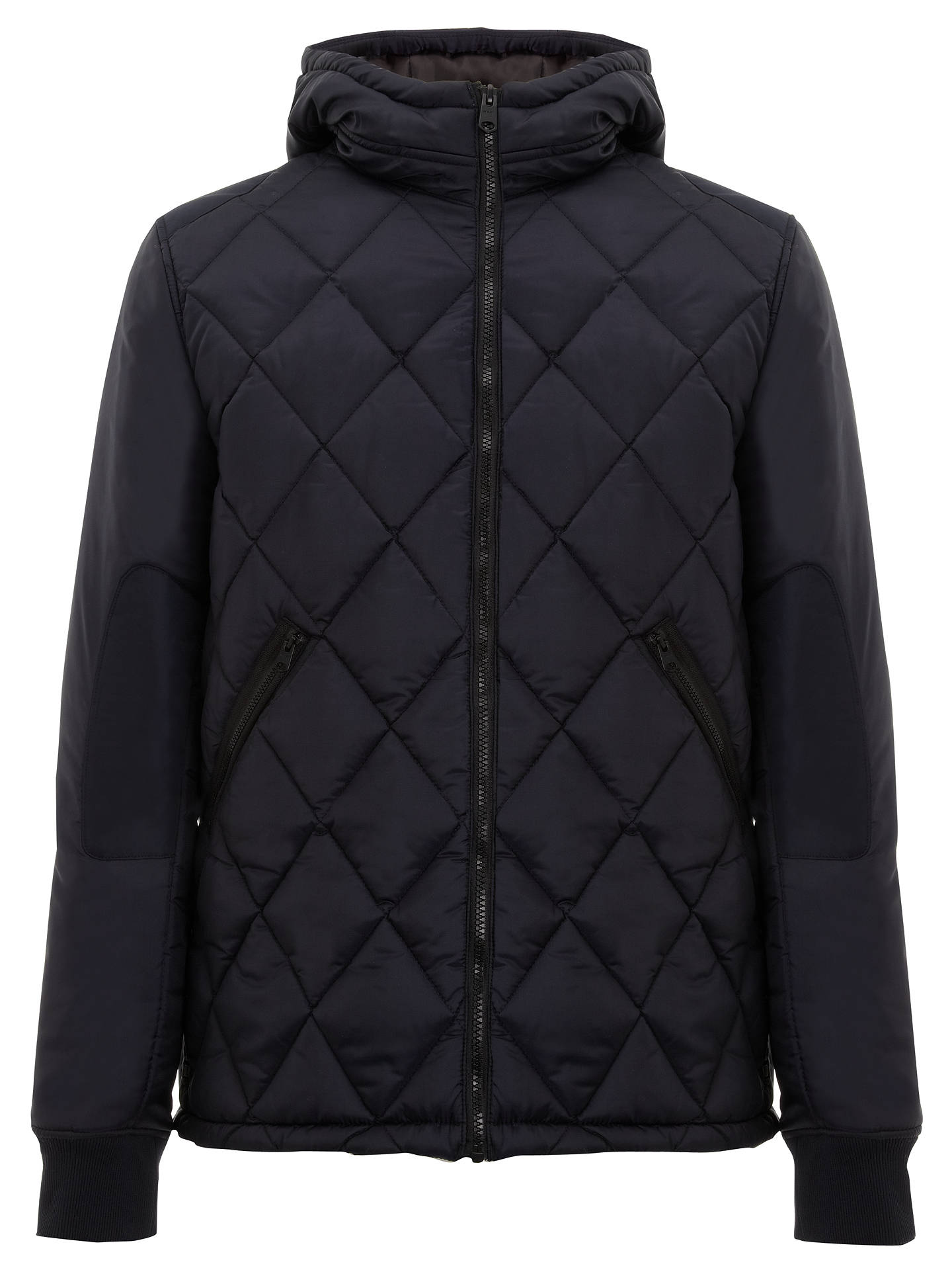 78d87b86a5a Buy G-Star Raw Fibrick Hooded Jacket, Mazarine Blue, S Online at johnlewis  ...