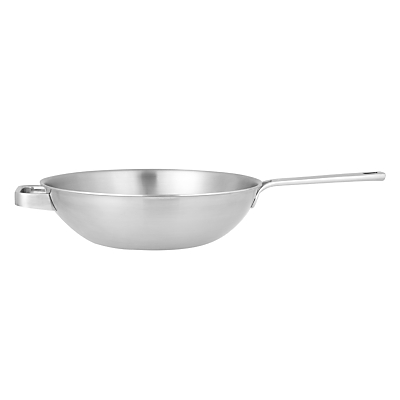 John Lewis & Partners 5-Ply Thermacore Wok, Dia.30cm