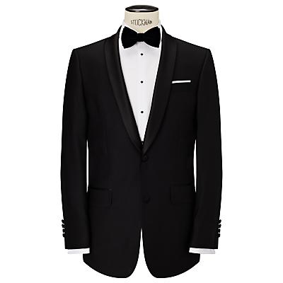 John Lewis Shawl Lapel Dress Suit Jacket, Black