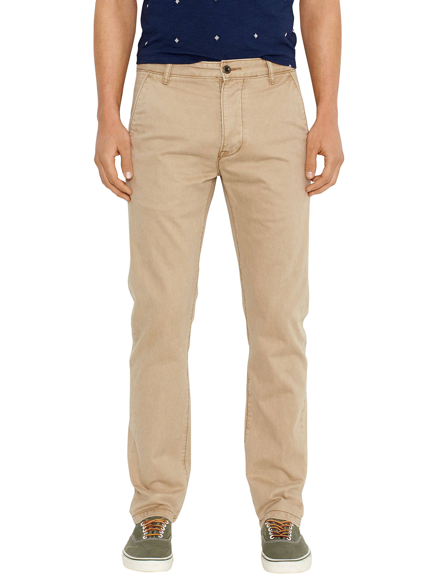 BuyLevi's Chino Trousers, Harvest Gold, 32S Online at johnlewis.com