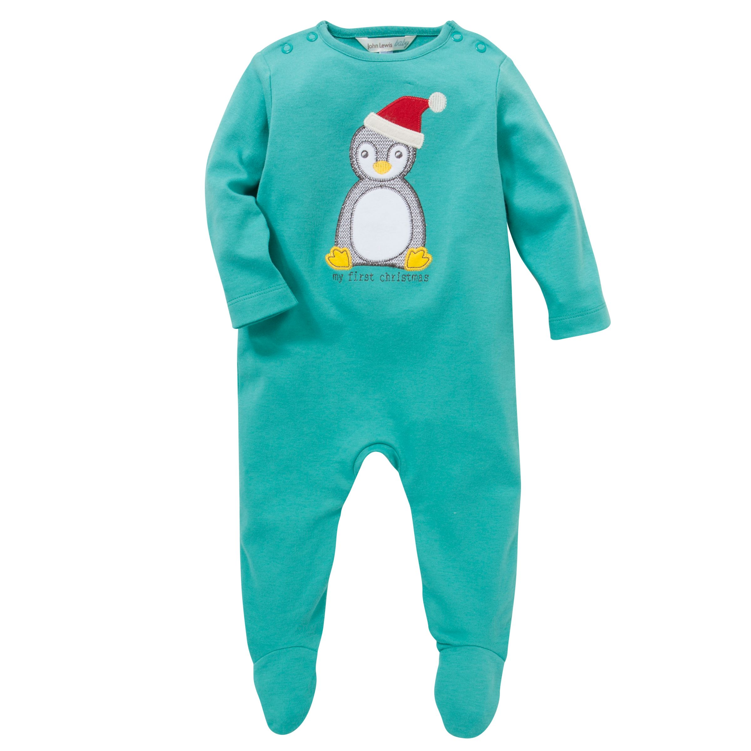 91c482bcb John Lewis My First Christmas Sleepsuit