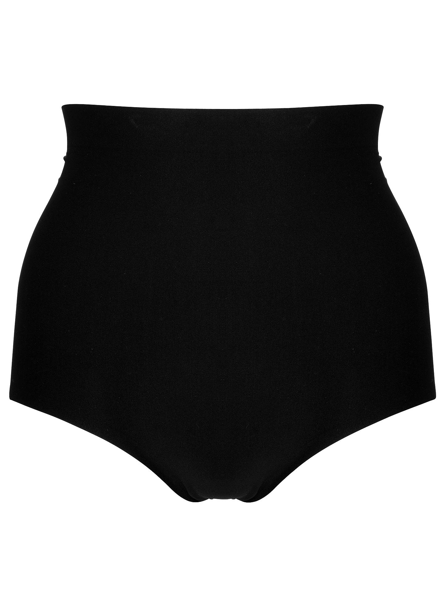 Buy John Lewis & Partners Light Control High Waist Briefs, Black, 8 Online at johnlewis.com