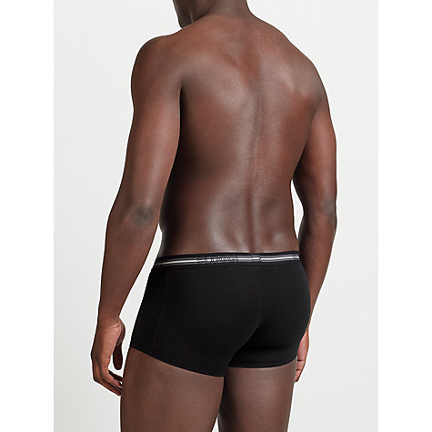 Buy Sloggi Mens Hipster Trunks, Pack of 2, Black/Grey Online at johnlewis.com
