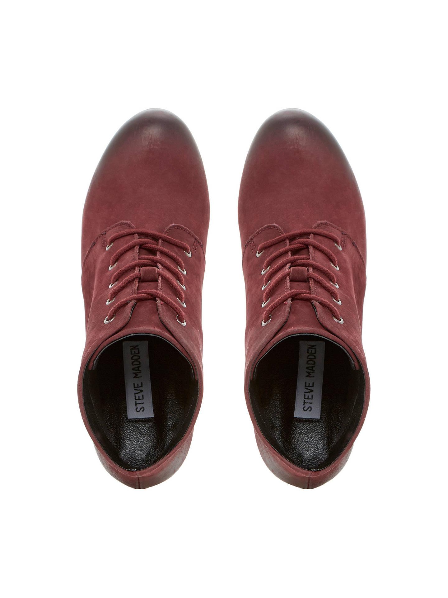 9e43debbcb1 Steve Madden Raspy Platform Leather Ankle Boots at John Lewis   Partners