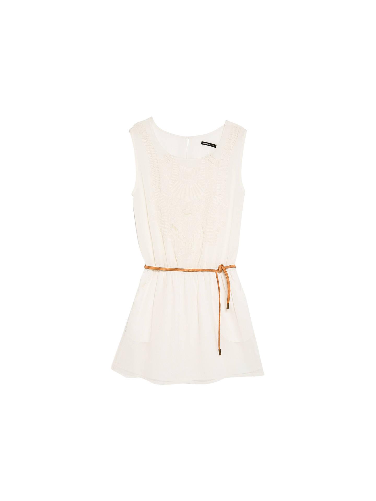 72d1fc9a11e1 BuyMango Openwork Design Dress