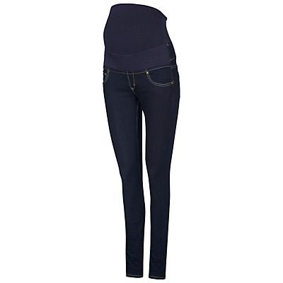 Product photo of Isabella oliver zadie super stretch skinny denim maternity jeans indigo