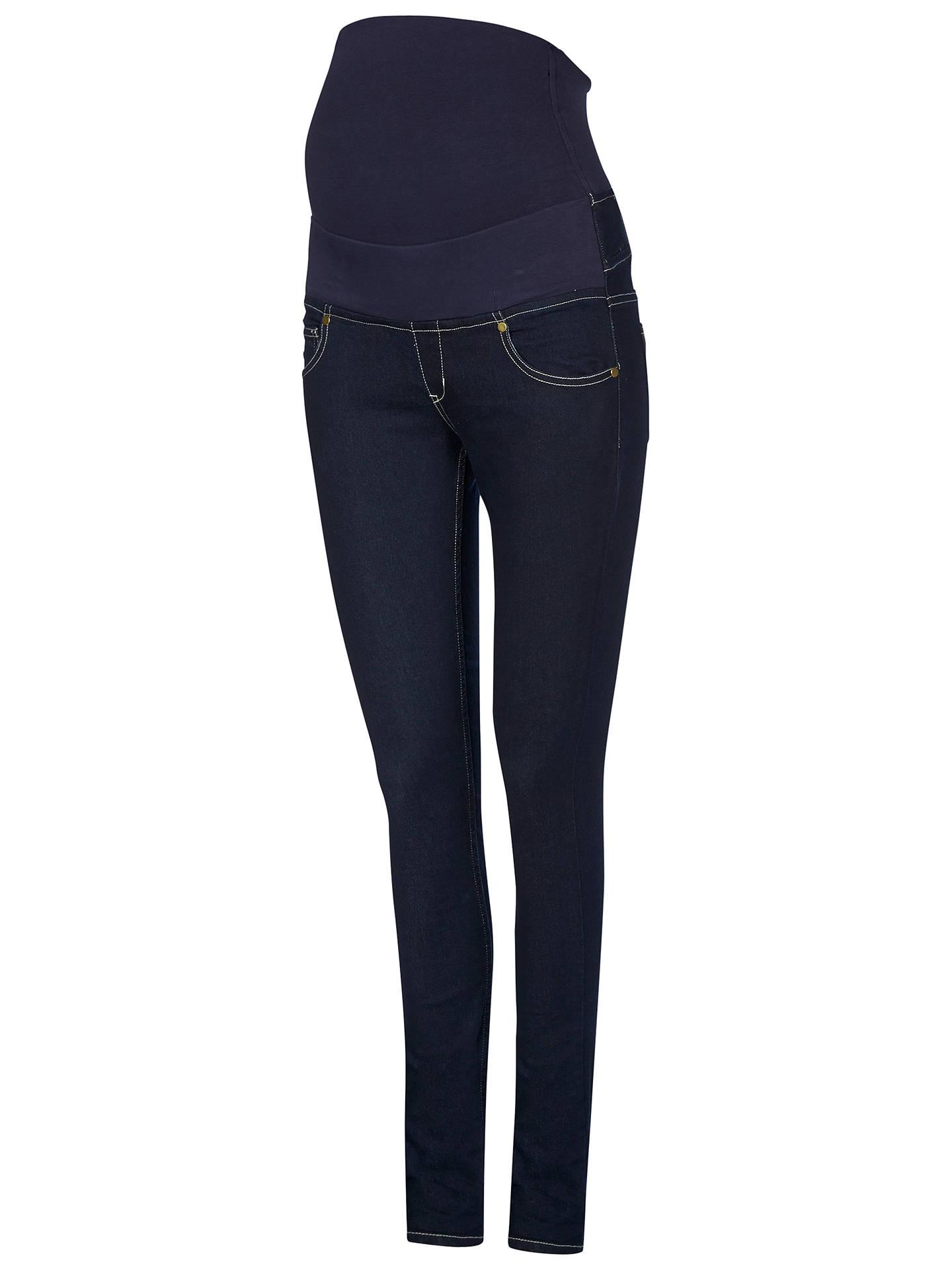 b555a4083a9f5 Buy Isabella Oliver Zadie Super Stretch Skinny Denim Maternity Jeans,  Indigo, 8 Online at ...