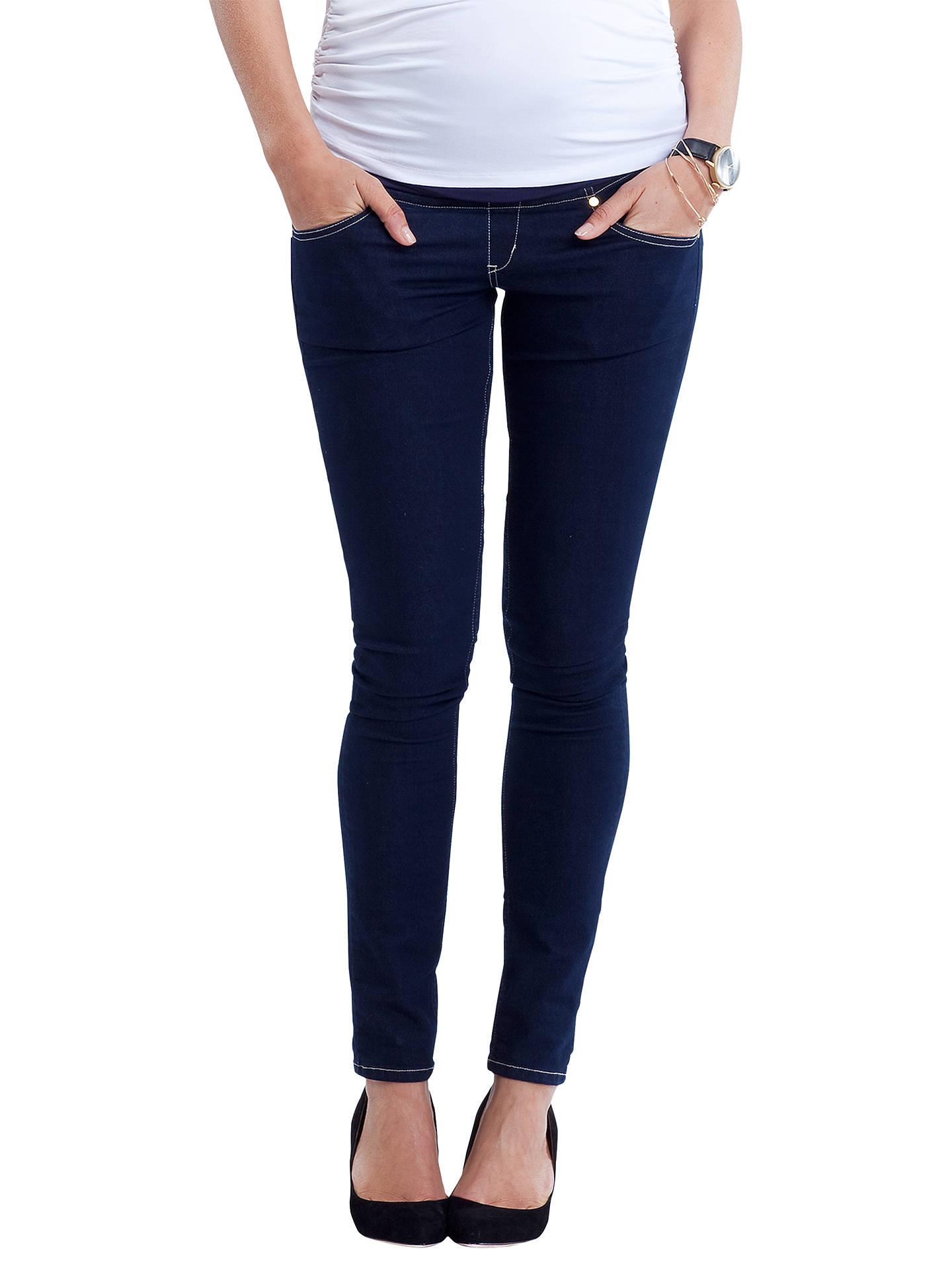 04dd2d9ab9c8a ... Buy Isabella Oliver Zadie Super Stretch Skinny Denim Maternity Jeans,  Indigo, 8 Online at ...