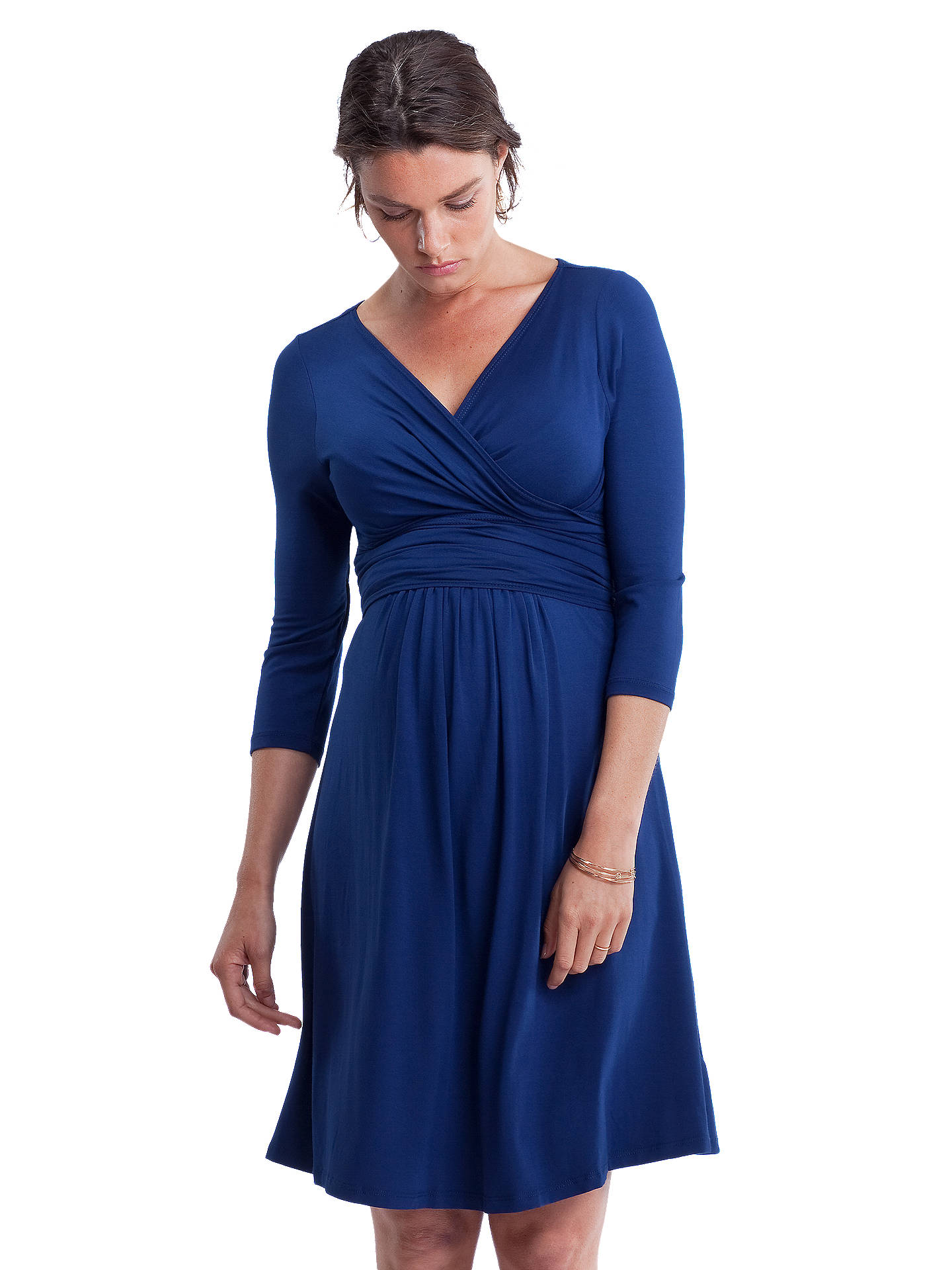 af8c3c7e950 ... Buy Isabella Oliver Emily Ruched Wrap Front Maternity Dress