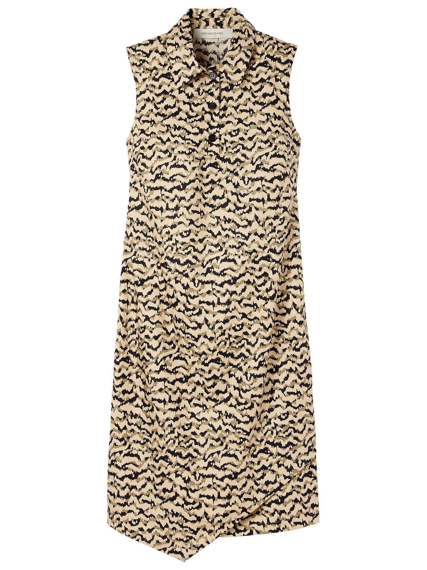 378ce35798020 Buy Gérard Darel Shirt Dress, Army Print, 14 Online at johnlewis.com ...