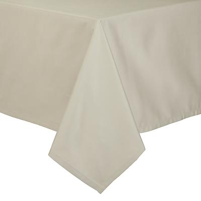 John Lewis Mezzo Tablecloth, Natural, L180 x W140cm