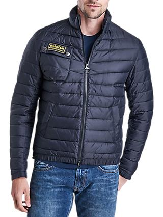cc7aa805c4c Barbour International Chain Quilted Baffle Jacket
