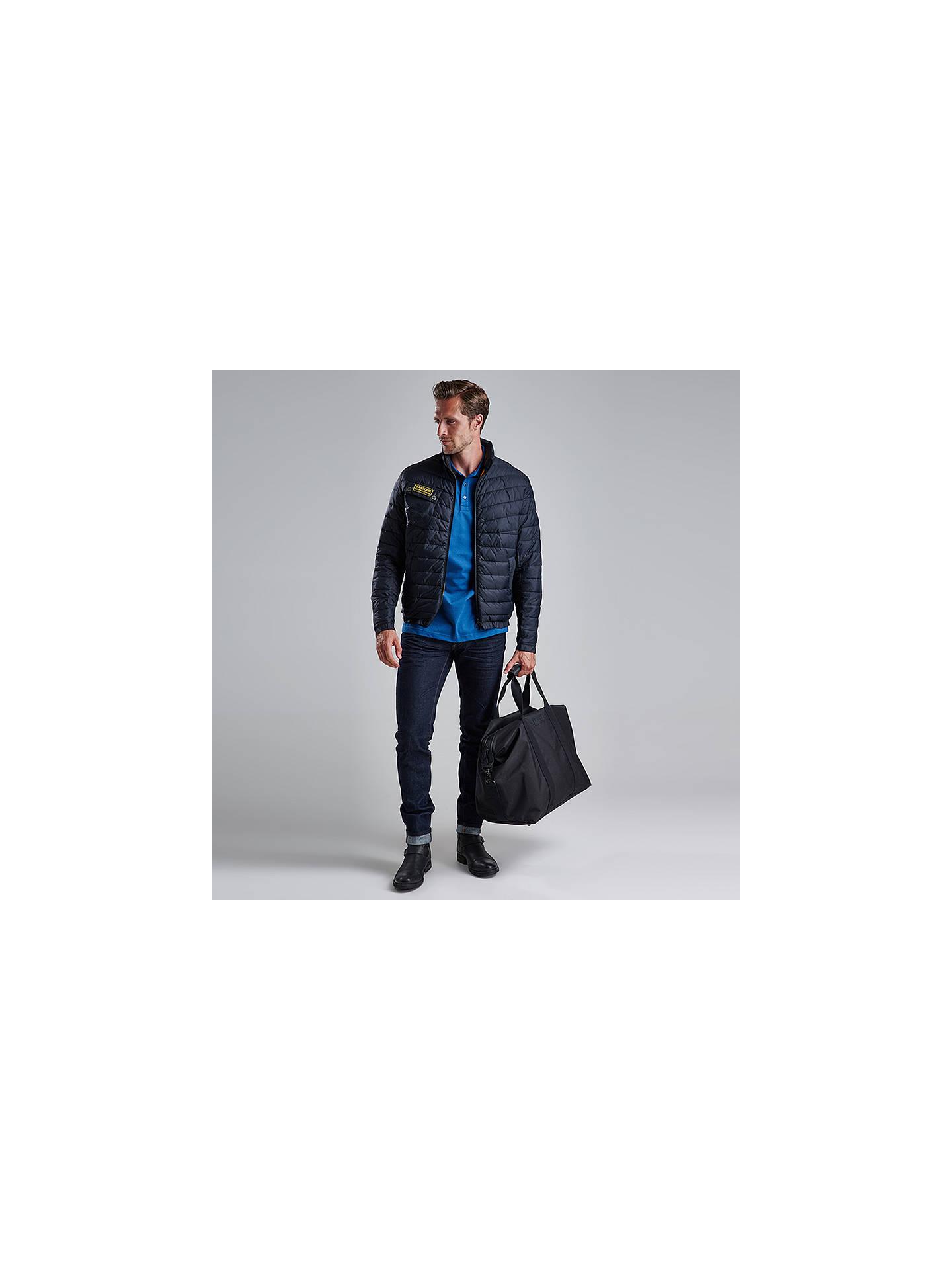 Barbour International Chain Quilted Baffle Jacket Black At John Eastpak Padded Pakamp039r Backpack Quilt Sunday Buybarbour S Online