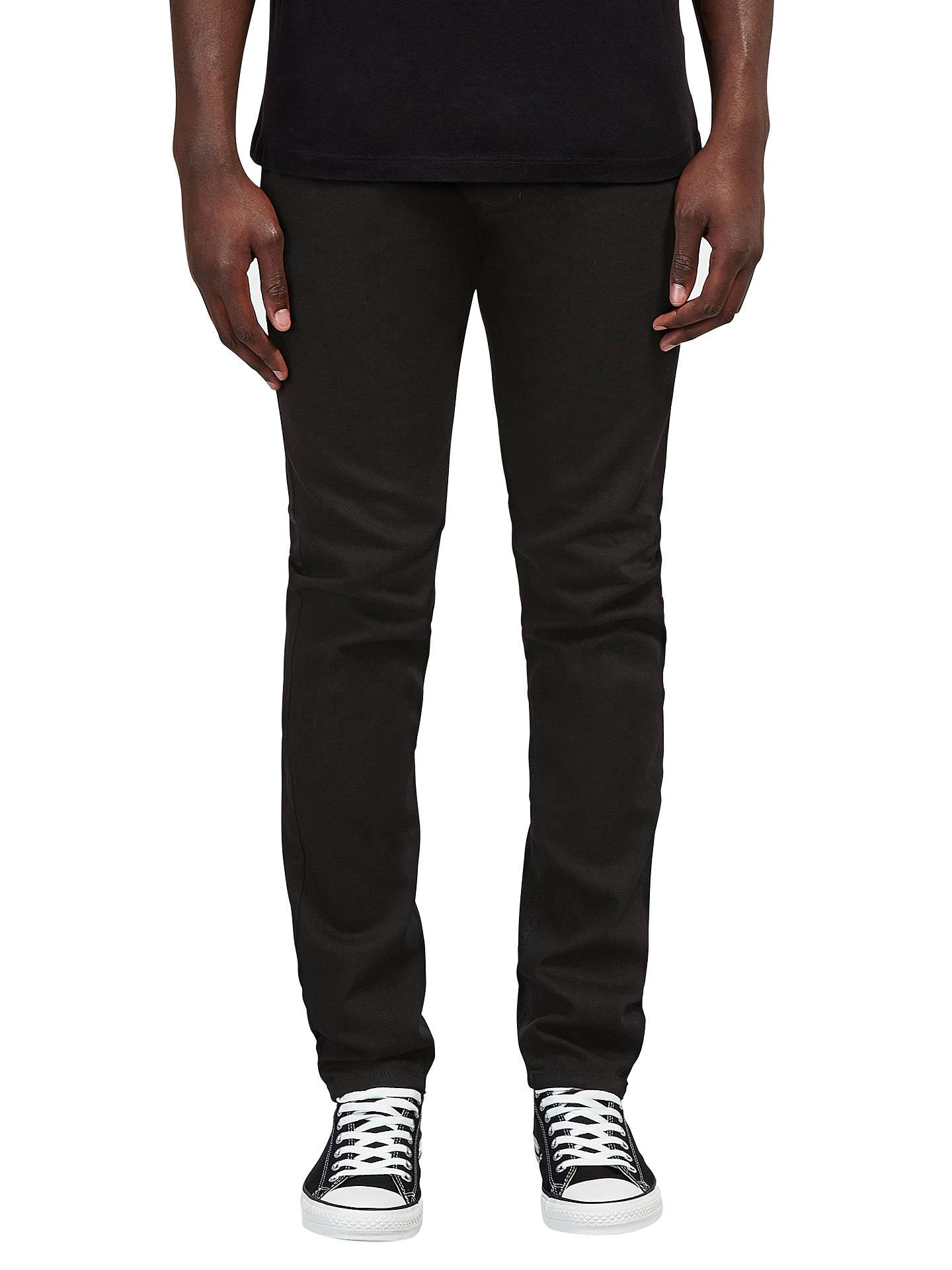 c912e51c Buy Diesel Tepphar 0886Z Slim Jeans, Black, 30R Online at johnlewis.com ...
