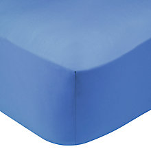Buy John Lewis Perfectly Smooth 200 Thread Count Egyptian Cotton Standard Fitted Sheet Online at johnlewis.com