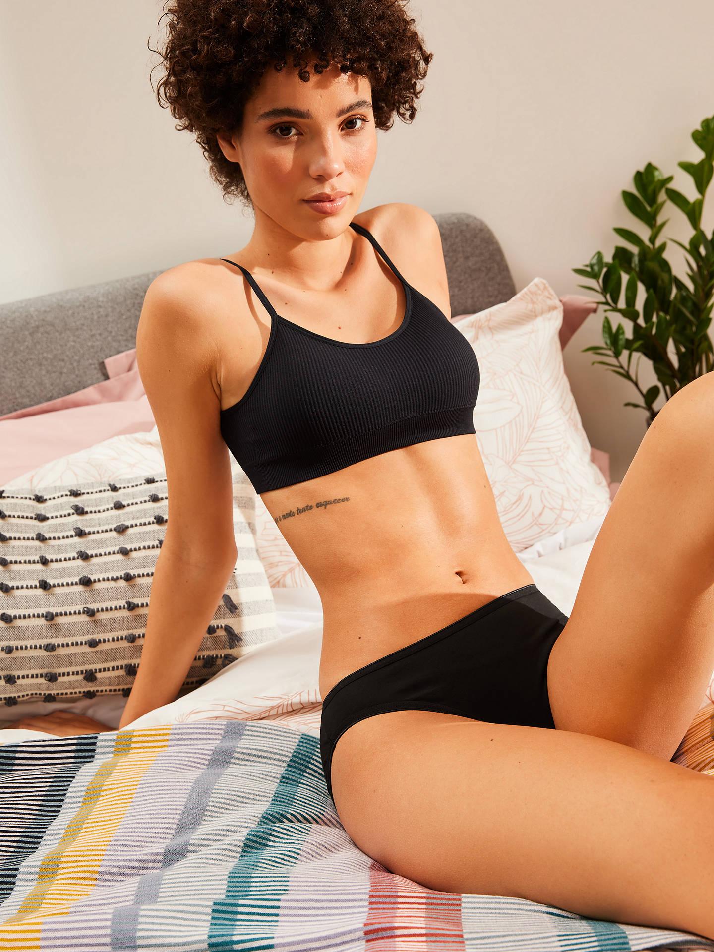 9869a2471ef6 ... Underwear · Women's Knickers & Briefs. Buy John Lewis & Partners 5 Pack  Pima Cotton Bikini Briefs, Multi, 8 Online