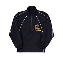 Buy The Swaminarayan School Sports Jacket, Navy Online at johnlewis.com