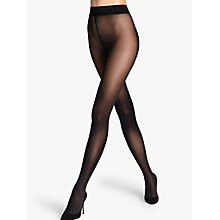 Buy Wolford 50 Denier Seamless Opaque Tights, Black Online at johnlewis.com