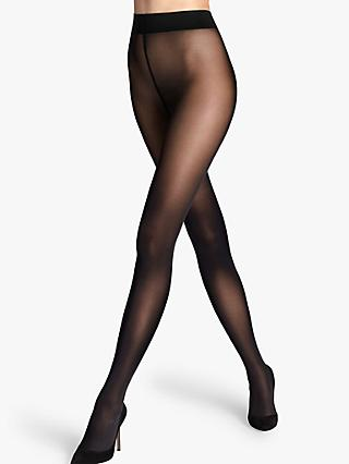 Wolford 50 Denier Seamless Opaque Tights, Black