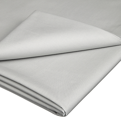John Lewis & Partners Crisp and Fresh 200 Thread Count Egyptian Cotton Flat Sheet
