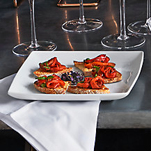 Romano Pepper Crostini