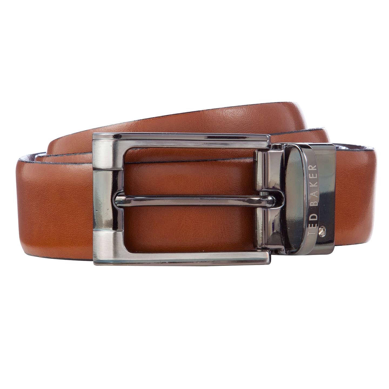 BuyTed Baker Crafti Smart Leather Reversible Belt, Tan, 32 Online at  johnlewis.com ...