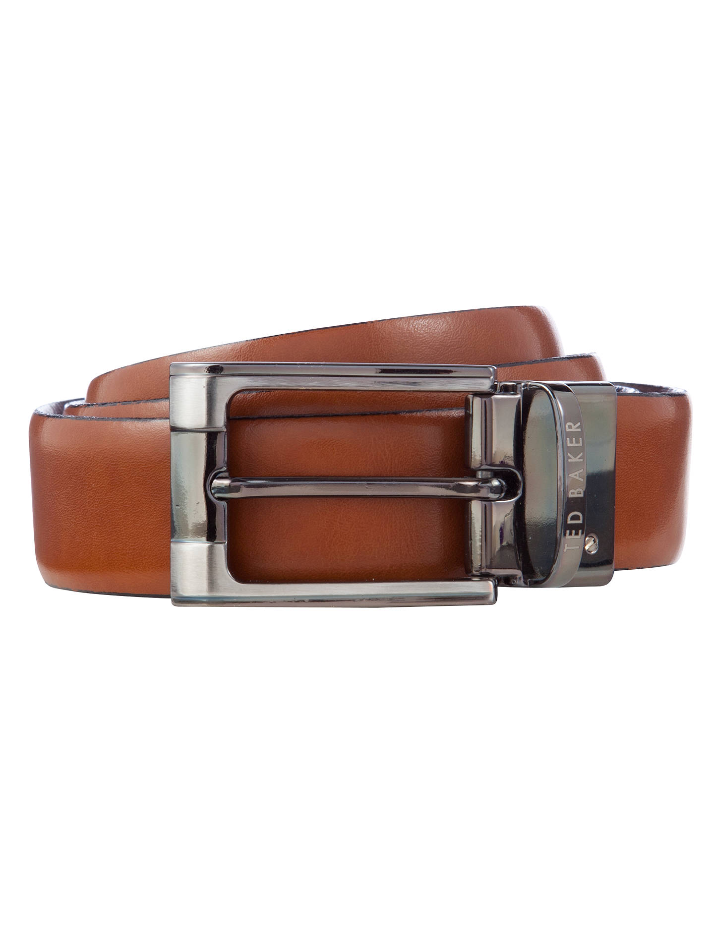 b62e902335e9 Ted Baker Crafti Smart Leather Reversible Belt at John Lewis   Partners
