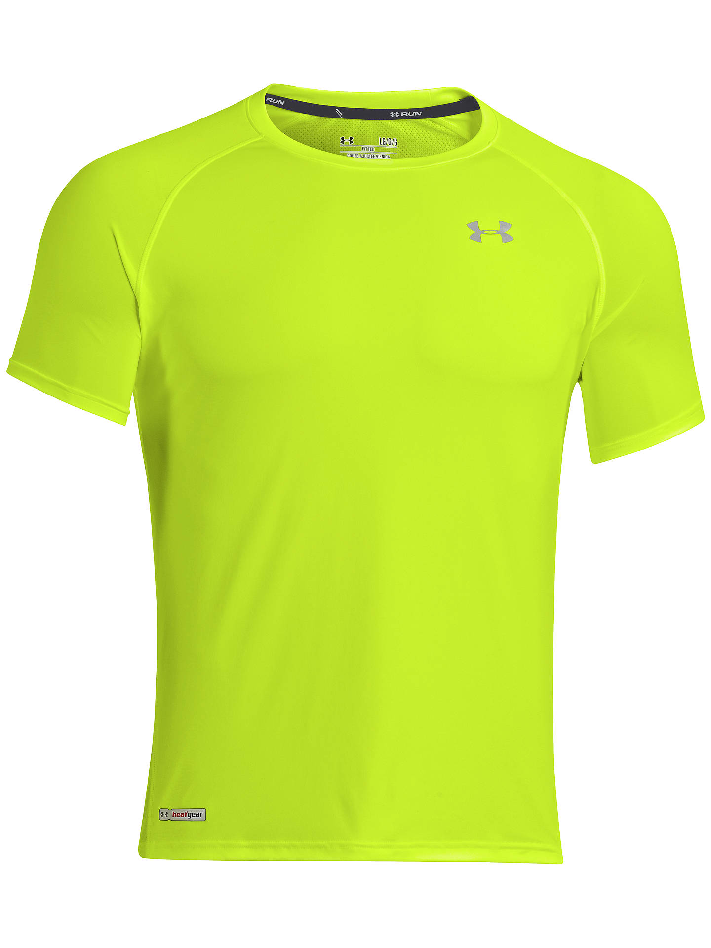 4830f2b90d Under Armour Heatgear Flyweight Running T-Shirt at John Lewis & Partners