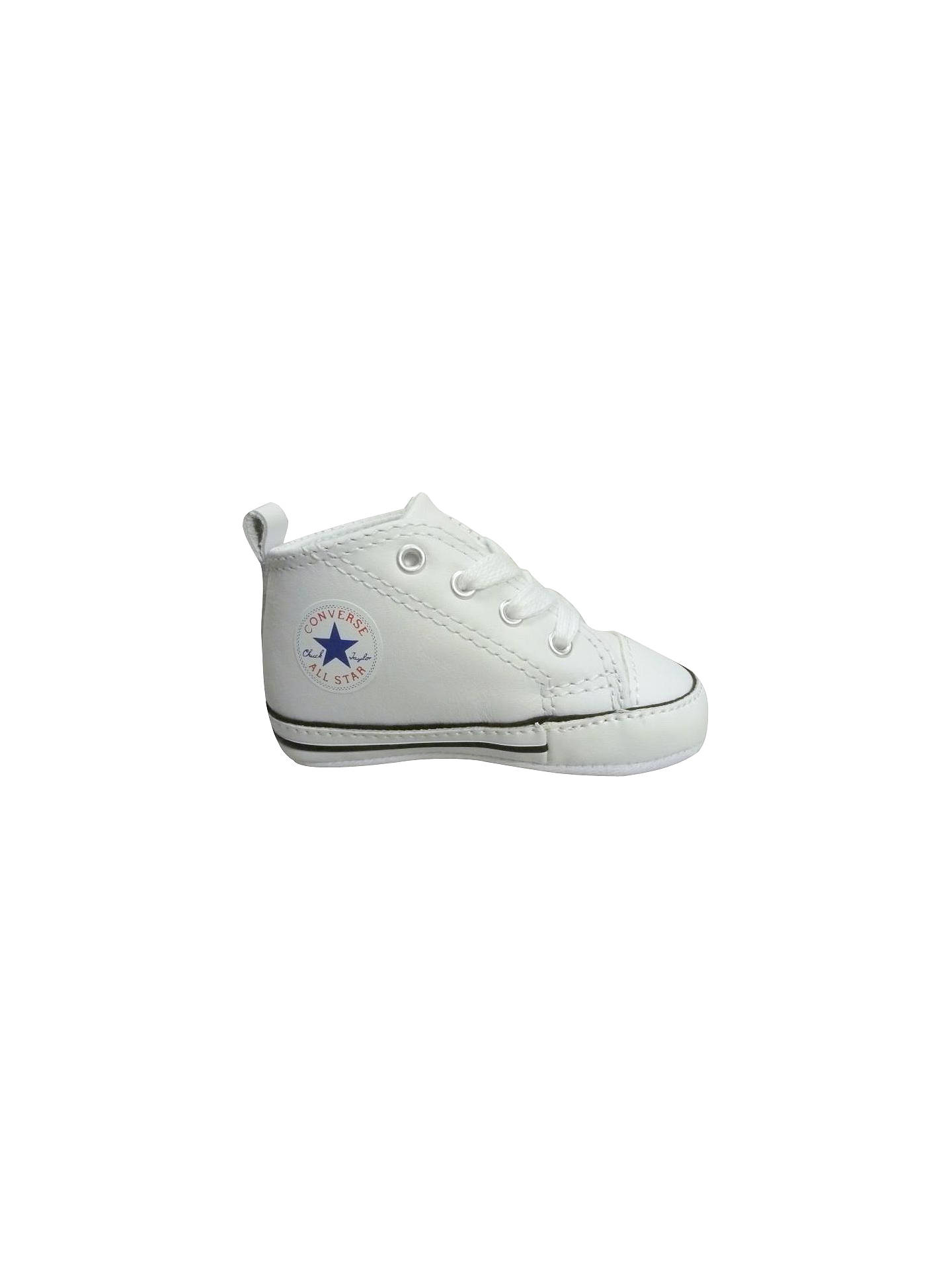 929488e167 Converse Children s First Star Trainers at John Lewis   Partners