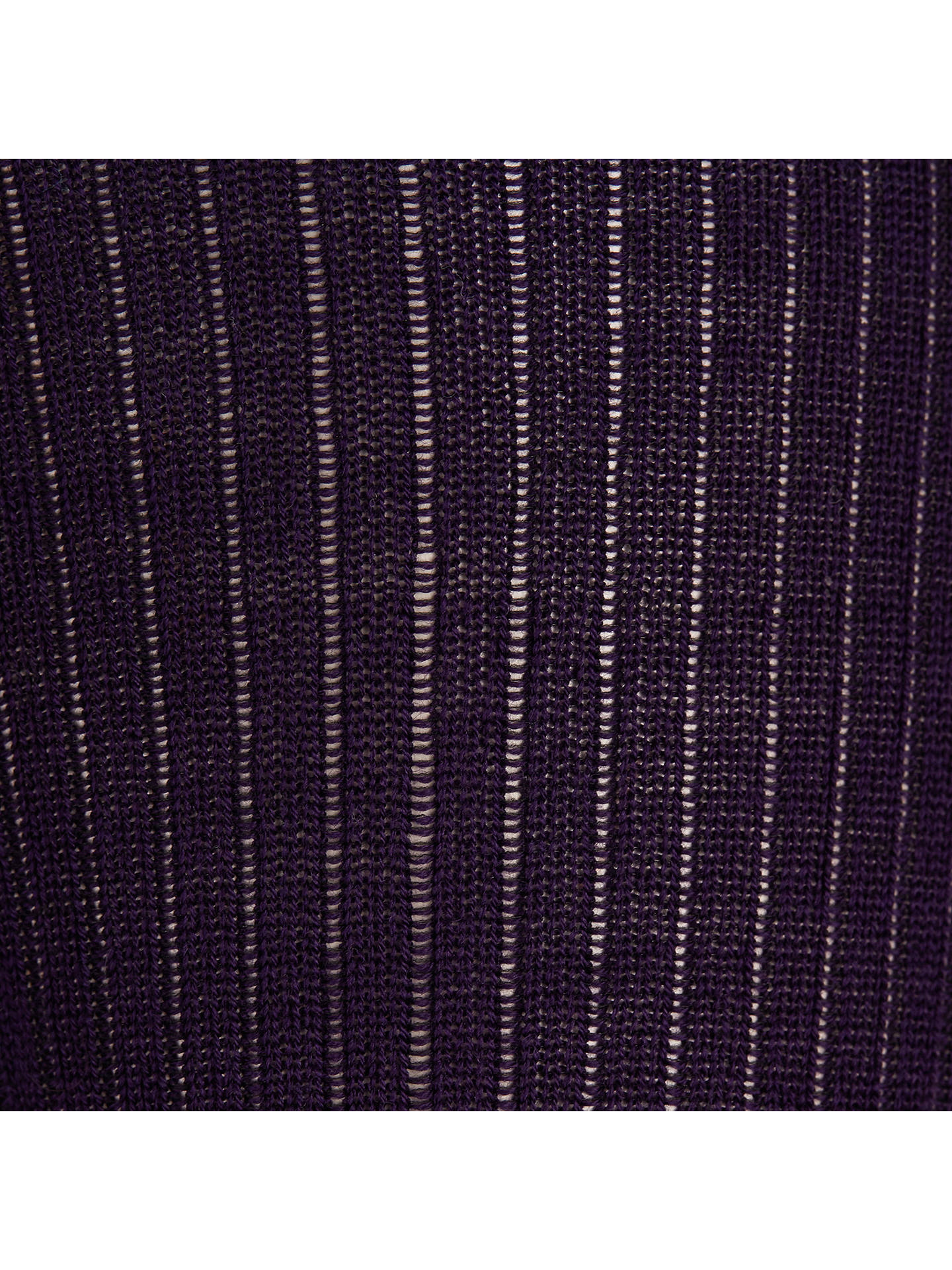 BuyJohn Lewis Wool Ribbed Tights, Purple, S Online at johnlewis.com