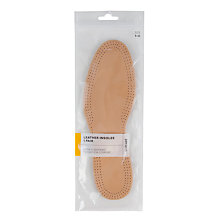 Buy John Lewis Leather Insoles, Naturals Online at johnlewis.com