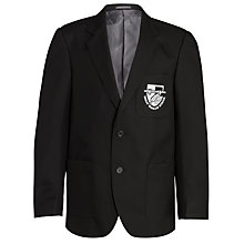 Buy Great Marlow School Boys' Blazer, Black Online at johnlewis.com