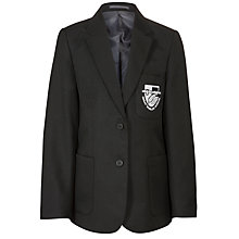 Buy Great Marlow School Girls' Blazer, Black Online at johnlewis.com