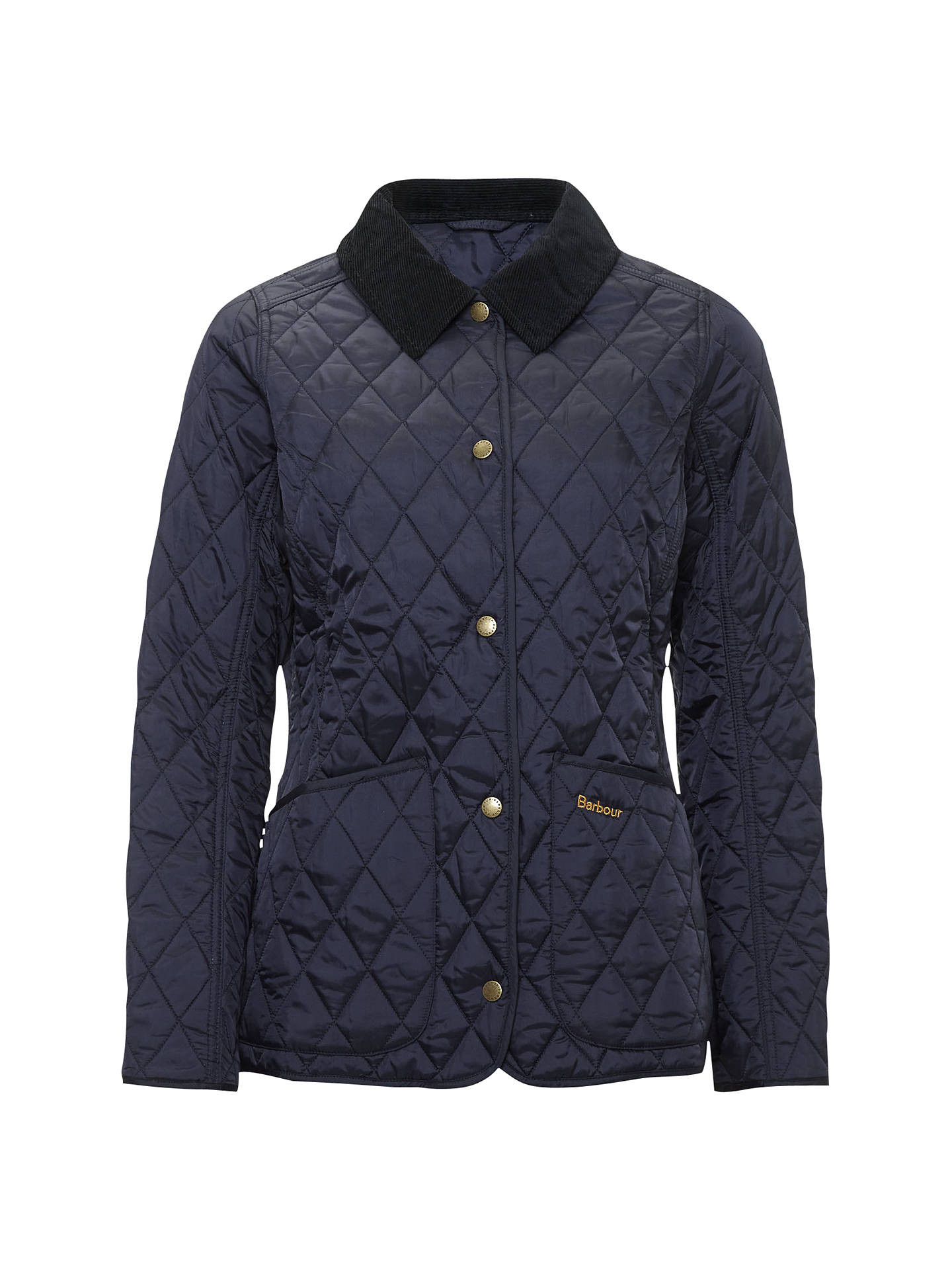 615e4b2b1 Barbour Spring Annandale Quilted Jacket, Navy at John Lewis & Partners