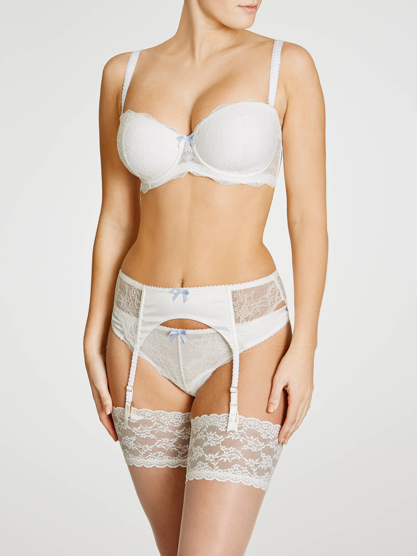 ab191f54f Buy COLLECTION by John Lewis Lana Bridal Suspender Belt