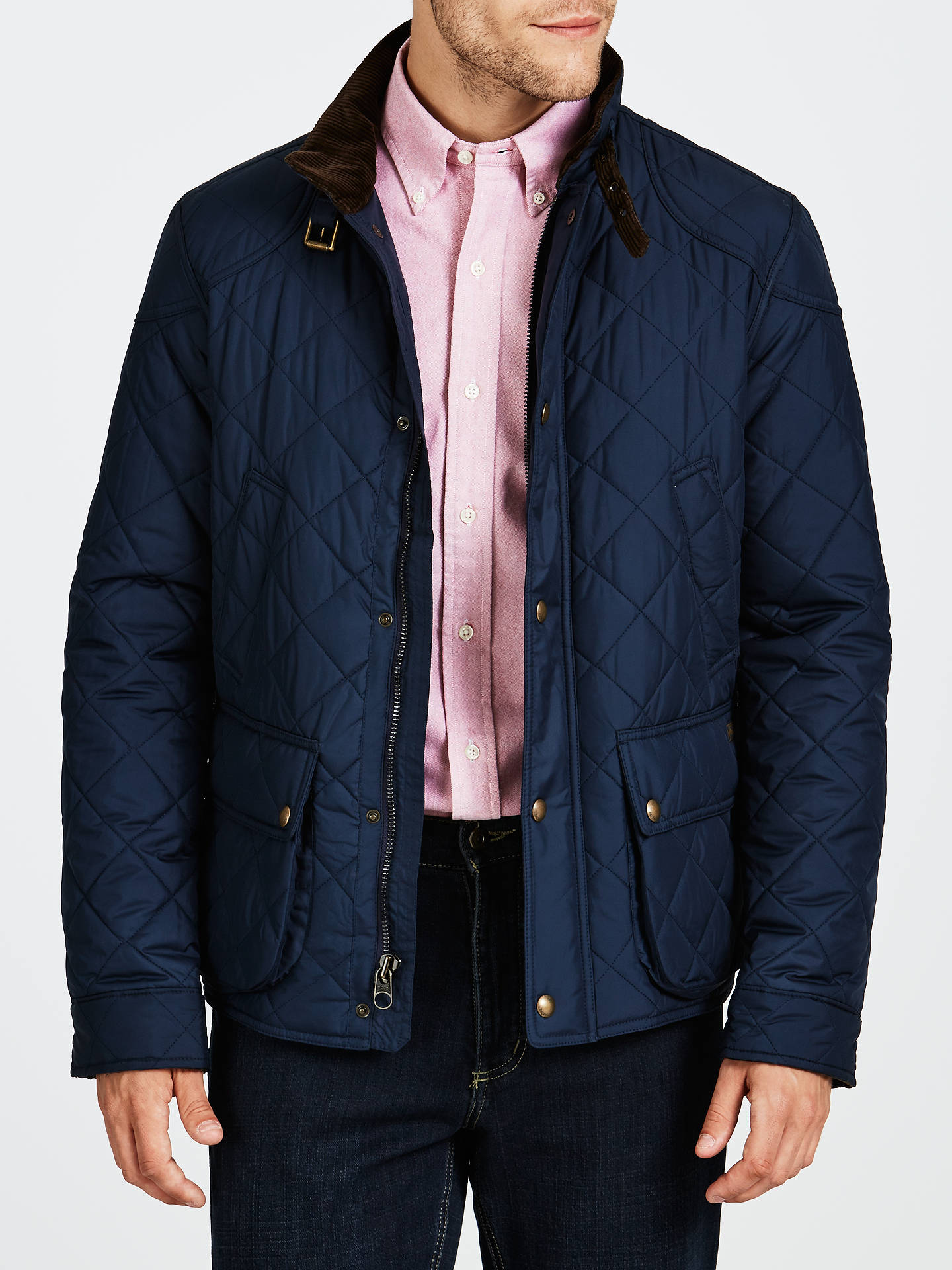 Polo Ralph Lauren Cadwell Quilted Bomber Jacket At John Lewis Partners
