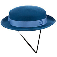 Buy Upton House School Girls' Winter Hat, Blue Online at johnlewis.com