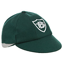 Buy Buckholme Towers School Boys' Cap, Bottle Green Online at johnlewis.com